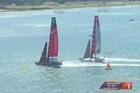 Day four of Louis Vuitton Cup finals racing and for the first time two races were completed in a day. The result Emirates Team New Zealand was looking for was two wins from two races, and that they got. Courtesy: YouTube/EmTeamNZ