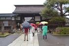 At the gates of Takayama Jinya. Photo / Emma Smith