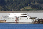 Super-yacht Weta, the pride and joy of Graeme Hart, is in Whangarei. Photo / John Stone