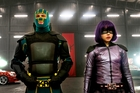 Kick-Ass (Aaron Taylor-Johnson) and Hit-Girl (Chloe Grace Moretz) line up for yet more mayhem in Kick-Ass 2.