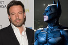 Ben Affleck is the new Batman. Photo / AP