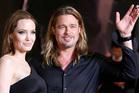 Brad Pitt and Angelina Jolie at the Tokyo premiere of World War Z. Photo / AP