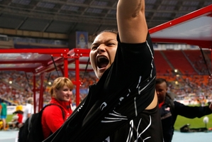 Valerie Adams' shotput event will be a big draw for Kiwi fans. Photo / AP