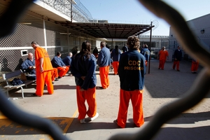 America has 5 per cent of the world's population and 25 per cent of its jail population.  Photo / AP