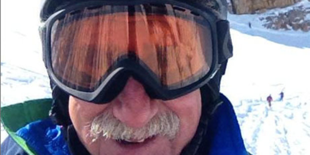 72-year-old Toby Kravet had a cold, uncomfortable night on the mountain. Photo / ODT
