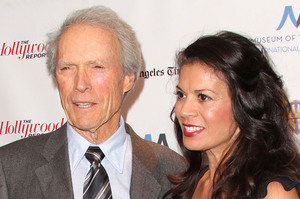 Director Clint Eastwood and Dina Ruiz. Photo / Getty Images