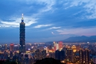 At 508m tall the Taipei 101 building dominates the city's landscape. Photo / Getty Images