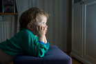 Higher levels of TV viewing were having a negative effect on children's wellbeing. Photo / Thinkstock