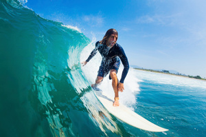 You won't need waves to ride your surfboard. Photo / Thinkstock