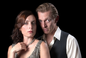 Jodie Hillock as Miss Julie and Erroll Shand as the chauffeur. Photo / Adam Baines