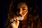 Lorde performs at an intimate Auckland live show featuring songs from her new album. Photo / Richard Robinson