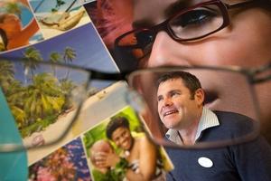 Optometrist Scott Raisbeck is off to lend a hand in Fiji. Photo / Ben Fraser