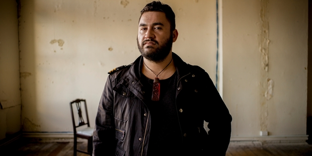 Tama Waipara only started singing after an accident temporarily stopped him from playing the clarinet.