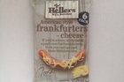 Heller's American style frankfurters - cheese $4.79 for 300g