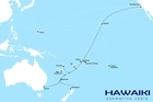 ROUTE: A map showing where the Hawaiki Cable will go.