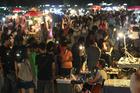 Bangkok's Talad Rot Fai market. Photo / Supplied