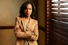 Kerry Washington's high-powered fixer is a long way from her Django Unchained role as a slave.