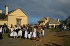 Proud descendants of Bounty mutineers joyfully celebrate their history on Norfolk Island.