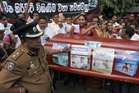 Fonterra does $260 million worth of business in Sri Lanka so it will be keeping a close eye on protests there.    Photo / AP