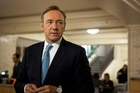 Kevin Spacey, who stars in the Netflix remake of House of Cards, sees the potential of technological advancements in his industry. Photo / AP