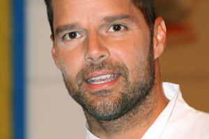 Ricky Martin has admitted that he used to bully homosexuals - despite being one himself. Photo / AP