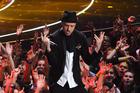 Justin Timberlake performs at the MTV Video Music Awards.  Photo / AP