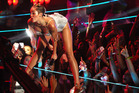 Miley Cyrus performs at the MTV Video Music Awards. Photo / AP