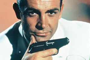 Sean Connery during his days portraying James Bond.