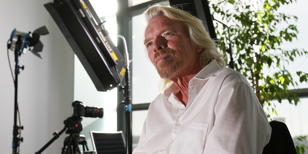Sir Richard Branson. Photo / NZH