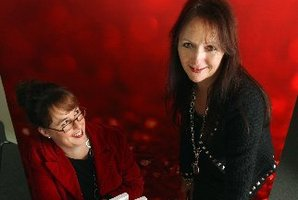 Roanna Kelly and Sally Cooke from Tuskany Agency