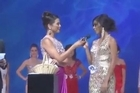 Joanlia Lising is heading to YouTube infamy after getting awkward during a question and answer session at a beauty pageant. Courtesy: YouTube/