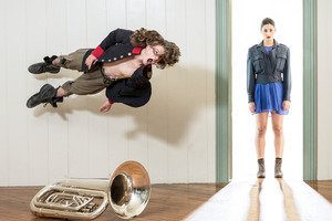 New Zealand Dance Company production of Rotunda. Photo / John McDermott