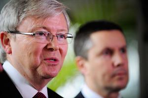 Prime Minister Kevin Rudd. Photo / AP