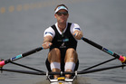 Mahe Drysdale competes in the Men's Single Sculls. Photo / Getty Images