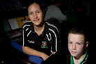 Kelly Peterson helps Aorere College student Wiremu Marshall set his goals. Photo / Sarah Ivey