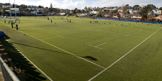 College Rifles Sports Club has resurfaced its boggy fields with synthetic turf. Photo / Richard Robinson