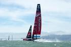Emirates Team NZ. Photo / Chris Cameron