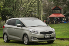 There's a two-month waiting list for Kia's seven-seater Carens. Pictures / Ted Baghurst