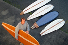 Surfboard maker Roger Hall will be speaking at the Californian Design seminar at The Auckland Art Gallery.