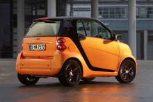 ForTwo Smart car.
