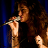 Lorde the stage name of 16-year-old Ella Yelich-OÍConnor who is taking the music world by storm performs a private show in Auckland. Photo / Richard Robinson