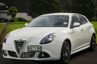 The Alfa Romeo Giulietta Quadrifoglio Verde, for those who are passionate about cars.Picture / Ted Baghurst