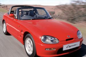 Suzuki's Cappucino kei car. Photo / Supplied