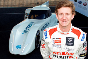 GT Academy winner from 2008 Lucas Ordonez has been appointed test and development driver for Nissan's electric ZEOD race car. Photo / Supplied