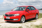 Rapid is a well-established Skoda name, but this version of it has many features which dispose of the old Skoda and seem certain to make it a success. Pictures / Damien O'Carroll