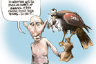 Vladimir Putin - the naturalist - tells the world to leave Syria alone. Image / Rod Emmerson