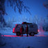 This staunch little van would carry us the two days from Yakutsk to Oymyakon. Photo / Amos Chapple
