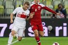 Tottenham has reached an agreement with Dutch club Ajax for Denmark midfielder Christian Eriksen (right). Photo / AP