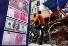 India's dependence on foreign capital is high and has risen sharply. Photo / AP