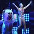 Miley Cyrus performing at the MTV Video Music Awards. Photo / AP